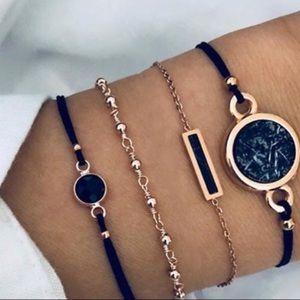 Jewelry - 4 Piece Layered Boho Bracelet